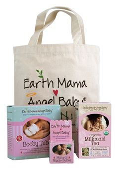Earth mama angel baby sponsor for twitter party- One of their prizes will be Breastfeeding Essentials Bundle