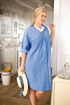 BURDA - Button Up Shirt Dress (Plus Size) 05/2015 #131B