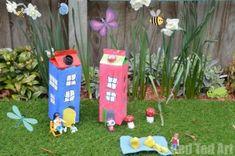Milk Carton House - Red Ted Art's Blog