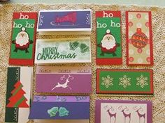 Christmas Cards I made