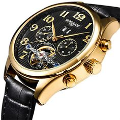 Binssaw Tourbillon Automatic Mechanical Watch //Price: $58.65 & FREE Shipping //     #necklace