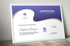 Create your own certificate with this creative certificate template. This is a certificate template created with MS Word program and intended for those who want Stationery Templates, Invoice Template, Sales Kit, Word Program, Certificate Of Achievement, Curve Design, Design Competitions, Certificate Templates, Business Names