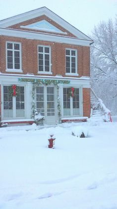 Bishop Hill Colony Store..............WINTER of FEB 14th, 2016