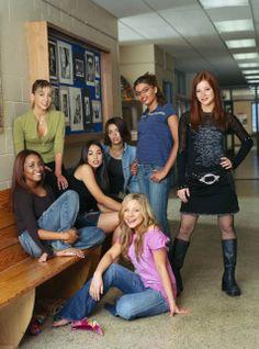 Ashley, Ellie, Emma, Hazel, Liberty, Manny and Paige