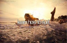 Y aprender a nadar.