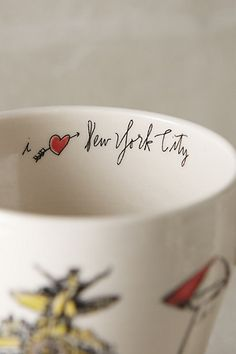 Just when you thought you couldn't love it more :) City Vignette Mug #anthrofave #anthropologie.com