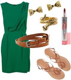 this would be a cute outfit for one of the recruitment days. Would wear in a royal blue or sapphire blue whatever can find thats closest and then gold belt and gold jewelry. i think its cute