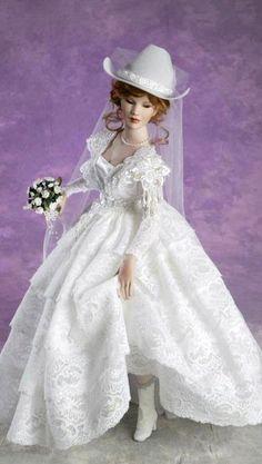 Franklin Mint Gibson Girl Bride Porcelain Doll 21 eBay SORT