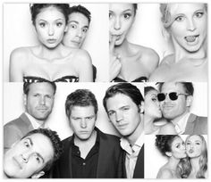 The cast minus the two most important people in it