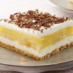 Banana Pudding Squares Recipe - Key Ingredient
