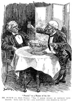 SAMUEL CLEMENS CARTOON. Samuel Langhorne Clemens, known as 'Mark Twain' (1835-1910). American writer and humorist. Cartoon from 'Punch' by Bernard Partridge inspired by Twain's visit to England in 1907.