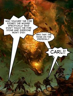 Carl Ruins everything