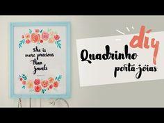 """DIY Dia das Mães! Aquarela e """"Lettering"""" improvisado por Isabelle Verona - YouTube"""