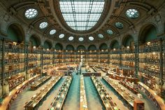 The National Library of France, Paris, France