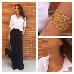 Office Outfits, Casual Outfits, One Shoulder, Style Inspiration, Instagram, Women, Fashion, Palazzo Pants, Spring Summer