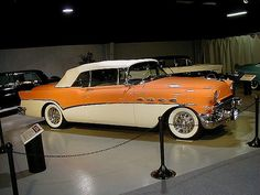 1956 Buick / salmon and creme equals my dream