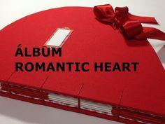 Estúdio Brigit - Livros Artesanais & Arte: Album Romantic Heart - VIDEO