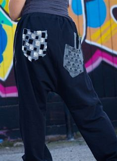 Love these pants for hip hop class! They are roomy and comfortable and fun to dance in!