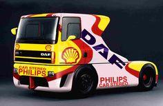 DAF Trucks Race Truck and Concept Truck 1995 - CORrozeria CORrozeria