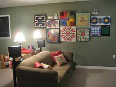 Laptops to Lullabies: Our organized toyroom + a board game wall