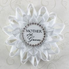 Mother of the Groom Gift Bridal Shower Corsages Bridal Shower Decorations Mother Grandmother Stepmother of the Bride Bride to Be Pin
