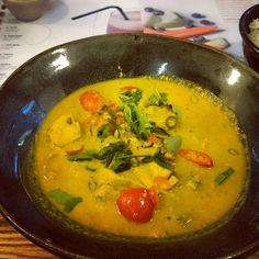 Yummy Wagamama tofu curry.