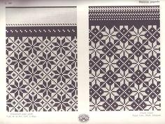Cimdu raksti - Traditional knitted mitten patterns - Rucava, Latvia