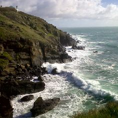 Lizard Point, Cornwall. UK.