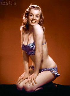 Marilyn Monroe 1948 by Laszlo Willinger