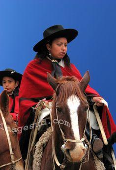 Argentina gaucho woman