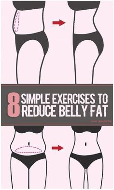 8 Simple Exercises To Reduce Belly Fat.