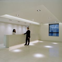 21 Grosvenor Street office lighting by Lighting Design International.