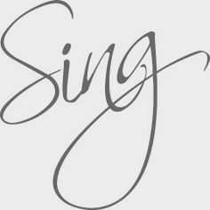 There is growing evidence that just like exercise, singing is good for you. In fact, singing can even include aerobic conditioning. It's also a wonderful stress reliever. Sara Bareilles, Sound Of Music, Kinds Of Music, Attitude, Sing To The Lord, Single Words, Choir, News Songs, Love Songs