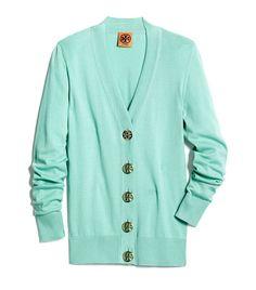 Aqua Tori Burch sweater