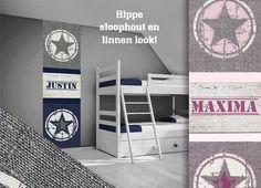 steigerhout behang | diy | pinterest | rustic nursery and nursery, Deco ideeën