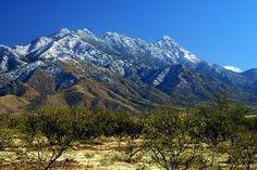 Santa Rita Mountains @ Coronado State Forest-Mount Wrightson is the tallest peak