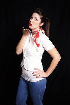 Esame Epoche: Anni '50 presso Making Beauty Academy di Milano. Model: Francesca Leone www.reykascream.wordpress.com