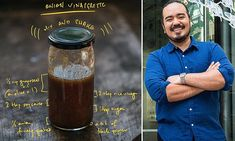 Celebrity chef Adam Liaw shares the recipe for his 'family's favourite' salad dressing Gf Recipes, Side Recipes, Sauces, Chicken Stir Fry, Cucumber Salad, Celebrity Chef, Mail Online, Daily Mail, Lee Marvin