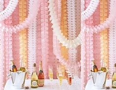 LifeGlow Crafts™ 6Pcs Hanging Four-Leaf Clover Garland (3.6M Long each)-Tissue Paper Flowers, Tissue Paper Garland, Independence Day Decoration, Wedding Decor, Party Decor, Tissue Paper, Tissue Paper Flowers Kit, Garland Craft (Pink) LifeGlow Crafts http://www.amazon.com/dp/B00Z9MY0AA/ref=cm_sw_r_pi_dp_5wR6wb1SG079E