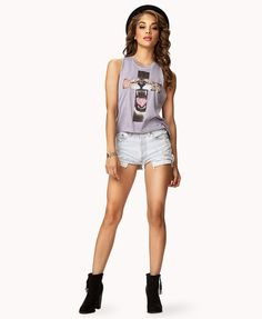 Wanna try out this look! It's not something I'd usually wear, but I love the look! #forever21