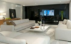 Luxury home theater Family room