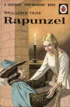 RAPUNZEL Vintage Ladybird Book Well Loved Tales Series 606D Matt Hardback 1975