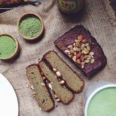 Matcha Banana Bread (Grain + Dairy-Free)