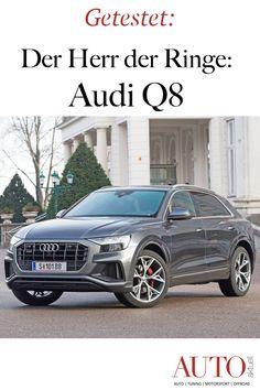 Der Audi Q8 ist das neue SUV und Flaggschiff von Audi. Im Test erfahren Sie alles über den neuen Q8 Audi, Bmw, Winter Tyres, Lord Of The Rings