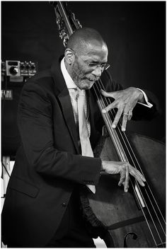"""Ron Carter"" @ All About Jazz photo gallery. View more jazz photos by Michael Kurgansky"