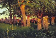 The Glory of Russian Painting: Andrei Nikolaevich Schilder An amazing artist...color and value sings!