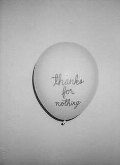 Thanks for nothing! #LessIsSexy #bonheur #easiness