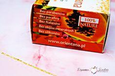 Orientana, naturalny kremowy peeling do twarzy papaja i żeń-szeń indyjski Hot, Paraffin Wax