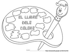 El Llibre dels Colors Coloring Pages For Kids, Adult Coloring, Charlie E Lola, Class Decoration, Melting Crayons, Worksheets For Kids, Digi Stamps, Art Plastique, Colouring Pages
