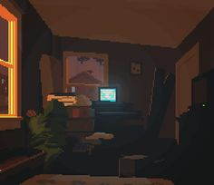 Discover & share this Art GIF with everyone you know. GIPHY is how you search, share, discover, and create GIFs. Game Design, Pixel Art Gif, Pixel City, Arte 8 Bits, Arte Indie, Pixel Animation, Arte Cyberpunk, 8 Bit Art, Aesthetic Gif